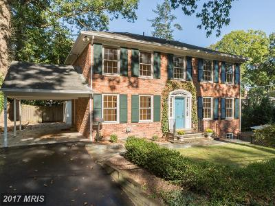 Bethesda Single Family Home For Sale: 6300 Massachusetts Avenue