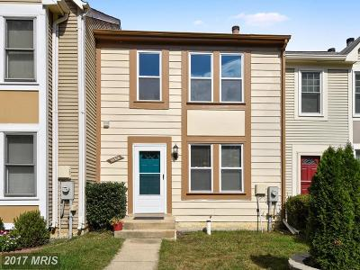 Burtonsville Townhouse For Sale: 14520 Sorrento Court