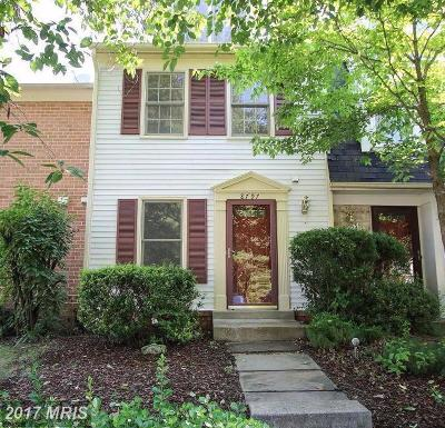 Gaithersburg Townhouse For Sale: 8797 Ravenglass Way