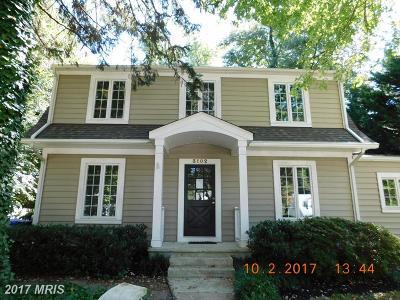 Kensington Single Family Home For Sale: 3102 Ferndale Street