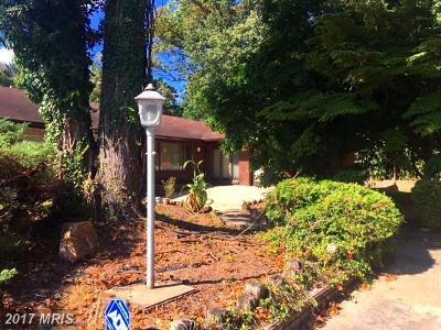 Silver Spring Single Family Home For Sale: 602 E Randolph Road