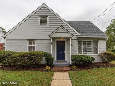 Kensington Single Family Home For Sale: 5006 Cushing Drive