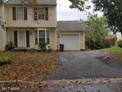 Gaithersburg Townhouse For Sale: 19829 Filbert Drive