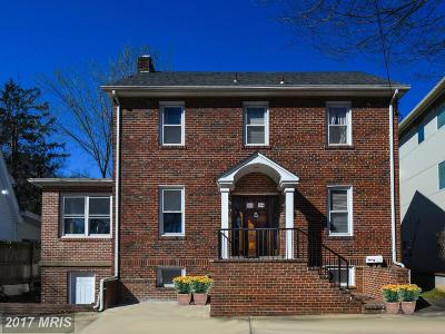 Montgomery Single Family Home For Sale: 6304 Wisconsin Avenue