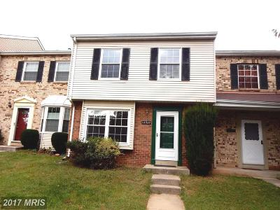 Germantown Townhouse For Sale: 12527 Crystal Rock Terrace