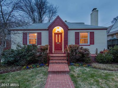 Silver Spring Single Family Home For Sale: 205 Dearborn Avenue