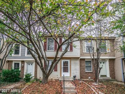 Germantown Townhouse For Sale: 12611 Misty Meadow Place