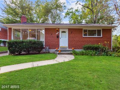 Silver Spring Single Family Home For Sale: 3926 Joliet Street