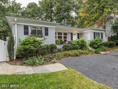 Bethesda Single Family Home For Sale: 5712 Massachusetts Avenue