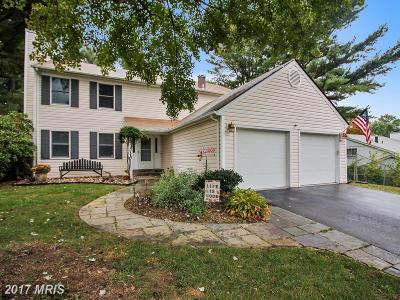 Gaithersburg Single Family Home For Sale: 17725 Stoneridge Drive