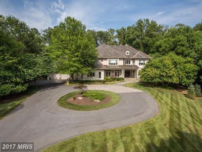 Potomac Single Family Home For Sale: 9719 Avenel Farm Drive