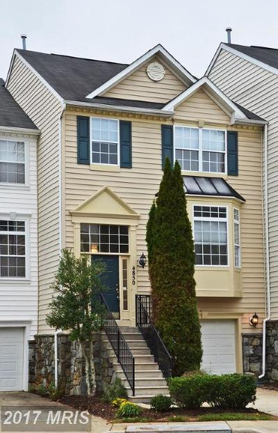 Olney Townhouse For Sale: 4850 Waltonshire Circle
