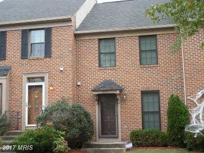 Germantown Townhouse For Sale: 20511 Summersong Lane