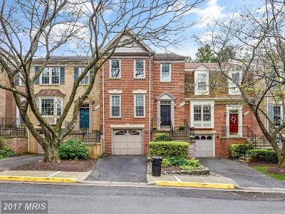 Rockville Townhouse For Sale: 6040 Loganwood Drive