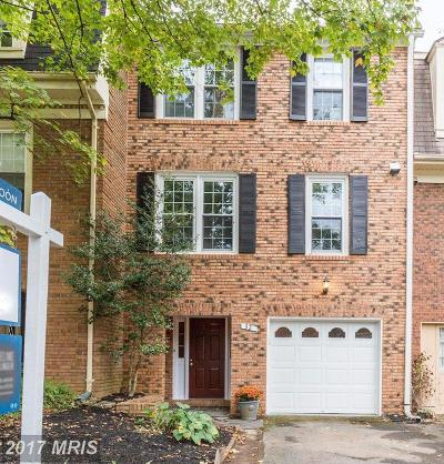 Rockville Townhouse For Sale: 32 Ritchfield Court