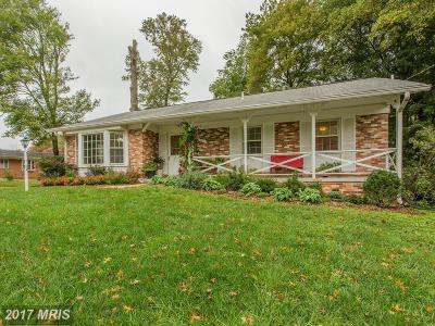 Silver Spring Single Family Home For Sale: 1811 Blueridge Avenue
