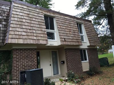 Gaithersburg Townhouse For Sale: 19019 Coltfield Court