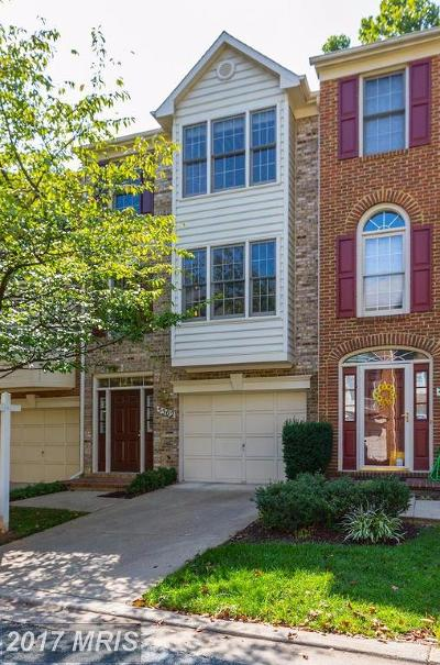 Montgomery Townhouse For Sale: 5502 Whitley Park Terrace #95