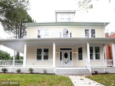 Gaithersburg Single Family Home For Sale: 31 Walker Avenue