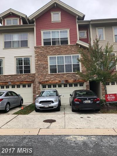 Silver Spring Townhouse For Sale: 3428 Snow Cloud Lane