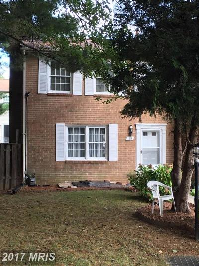 Montgomery Townhouse For Sale: 19 Autumn Hill Way