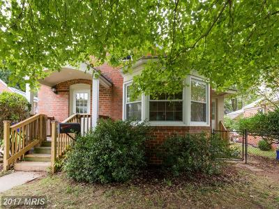 Silver Spring Single Family Home For Sale: 9126 Bradford Road