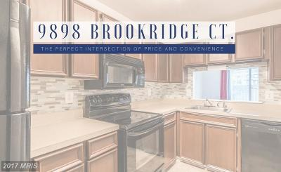 Montgomery Townhouse For Sale: 9898 Brookridge Court