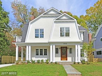 Chevy Chase Single Family Home For Sale: 3905 Blackthorn Street
