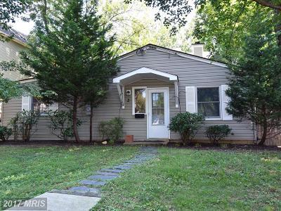 Cabin John Single Family Home For Sale: 2 Webb Road