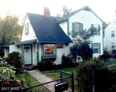 Rockville Single Family Home For Sale: 5814 Vandegrift Avenue