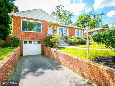 Silver Spring Single Family Home For Sale: 10606 Bucknell Drive