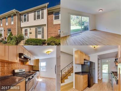 Silver Spring MD Townhouse For Sale: $187,900