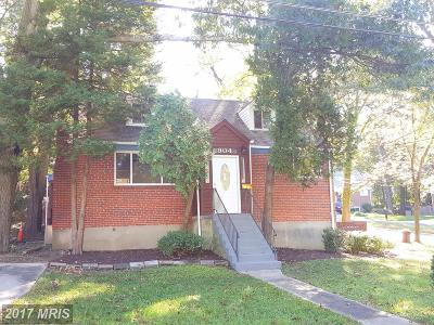 Silver Spring Single Family Home For Sale: 904 Dryden Street