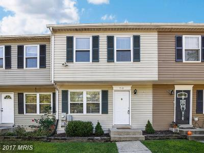 Silver Spring Townhouse For Sale: 710 Oxford Square Drive
