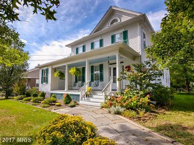 Poolesville Single Family Home For Sale: 18000 Elgin Road