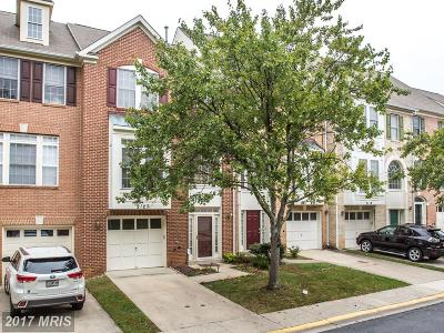 Silver Spring Townhouse For Sale: 2123 Chippewa Place