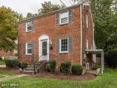Silver Spring Single Family Home For Sale: 10410 Clinton Avenue