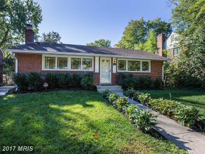 Silver Spring Single Family Home For Sale: 1614 Belvedere Boulevard