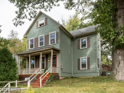 Takoma Park Single Family Home For Sale: 6705 Poplar Avenue