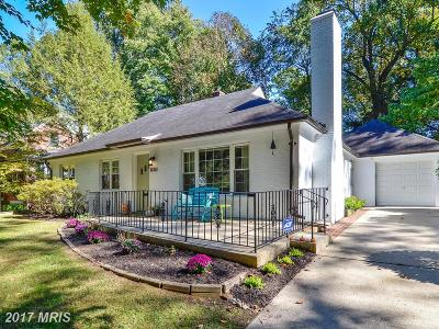 Silver Spring Single Family Home For Sale: 10313 Cherry Tree Lane