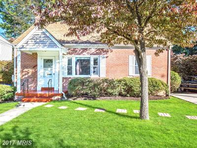 Silver Spring Single Family Home For Sale: 1617 Dublin Drive
