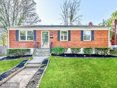 Rockville Single Family Home For Sale: 4706 Oxbow Road
