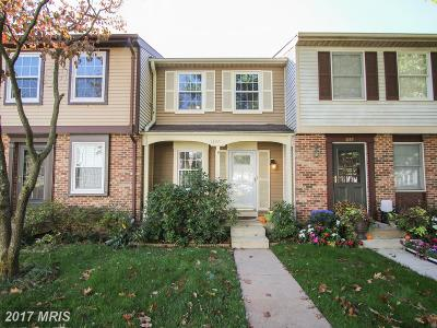 Silver Spring Townhouse For Sale: 1337 Elm Grove Circle