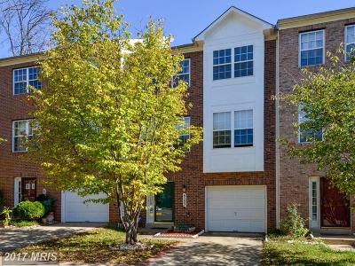 Gaithersburg Townhouse For Sale: 8202 Ironclad Court