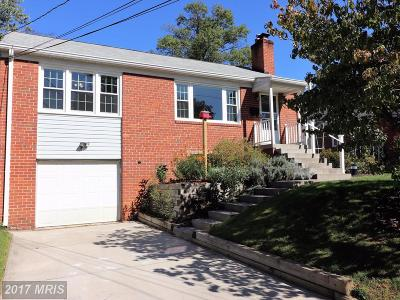 Takoma Park Single Family Home For Sale: 8109 Chester Street
