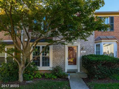 Silver Spring Townhouse For Sale: 1918 Flowering Tree Terrace