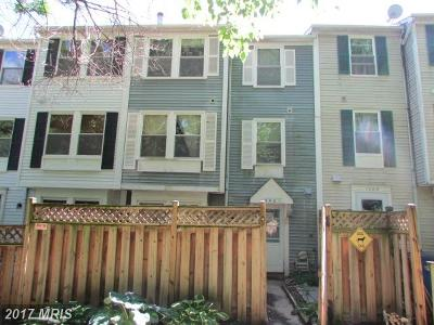 Germantown MD Townhouse For Sale: $189,900