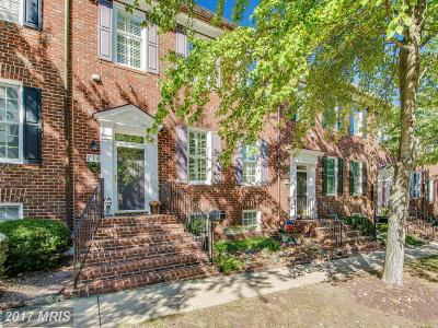 Gaithersburg Townhouse For Sale: 214 Thaxton Street