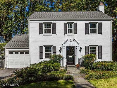 Bethesda Single Family Home For Sale: 5315 McKinley Street