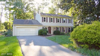 Rockville Single Family Home For Sale: 9704 Delamere Court